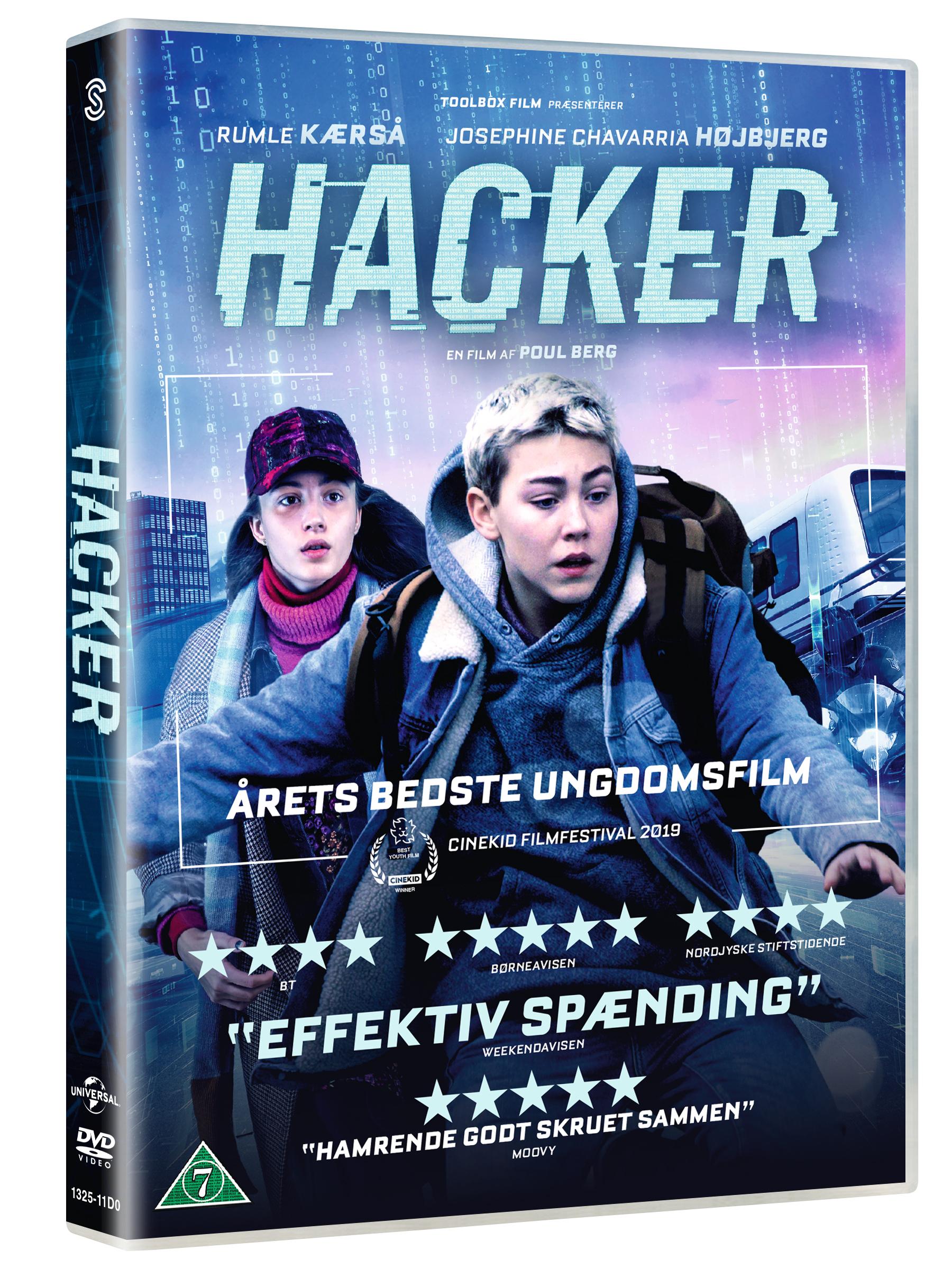 Hacker -  - Film -  - 5706169001876 - 15. august 2019