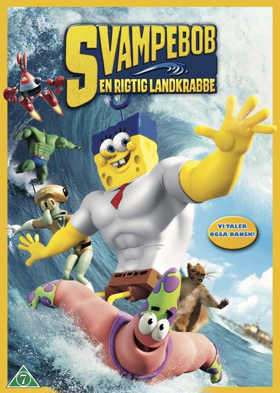 Svampebob: En Rigtig Landkrabbe -  - Film -  - 7340112719883 - 9/7-2015