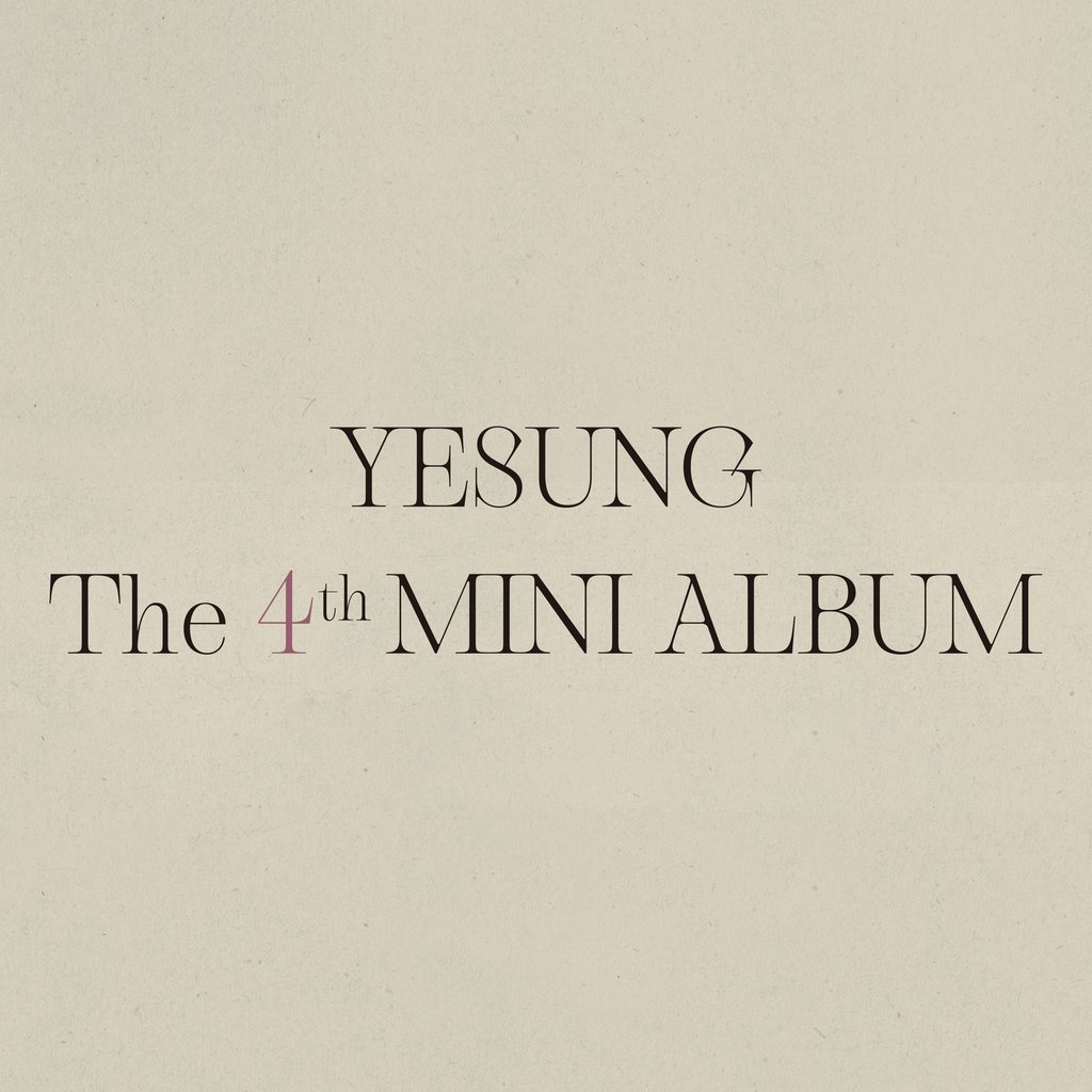 THE 4TH MINI ALBUM (PHOTO BOOK VER.) - YESUNG - Musik -  - 8809633189883 - May 5, 2021
