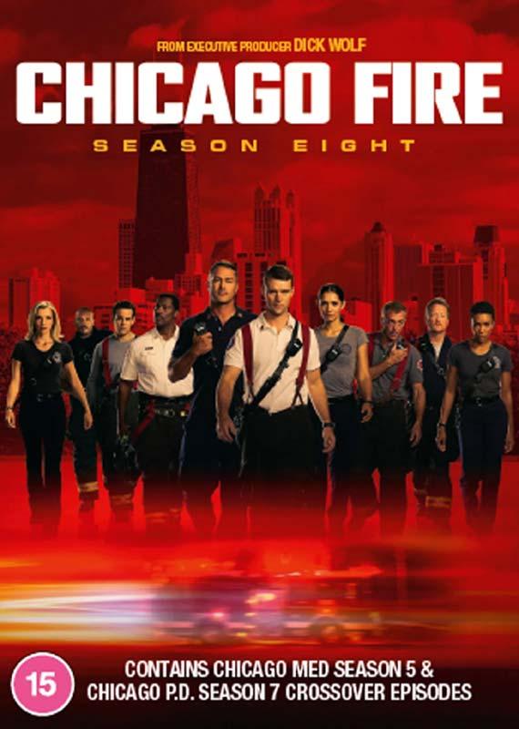 Chicago Fire: Season 8 - . - Film - PLAYBACK - 5053083219888 - 14/9-2020