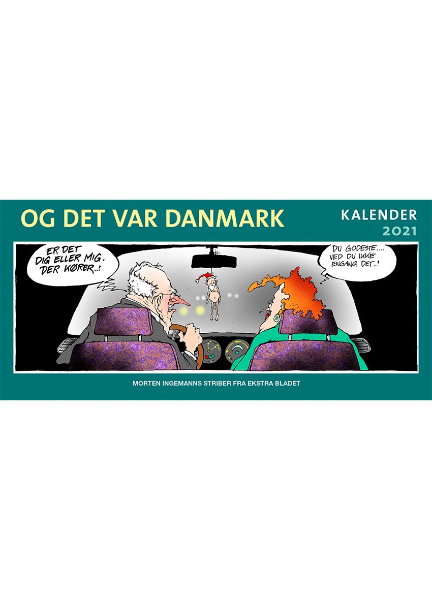Og det var Danmark kalender 2021 - Morten Ingemann - Bøger - Politikens Forlag - 9788740059892 - 1/10-2020