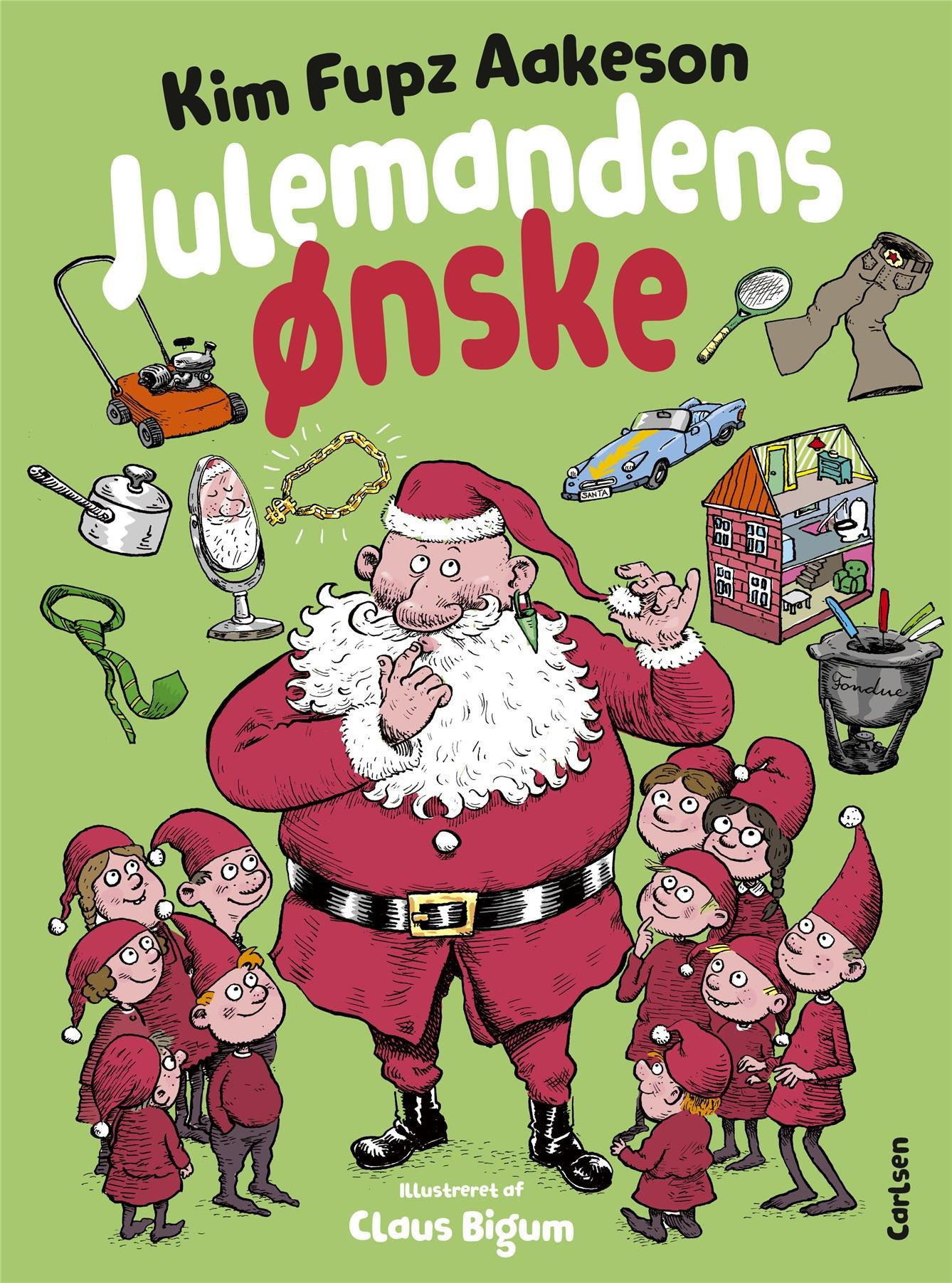 Julemandens ønske - Kim Fupz Aakeson - Bøger - CARLSEN - 9788711988893 - 15/10-2020