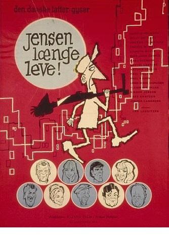Jensen Længe Leve! -  - Film -  - 5708758688895 - 19/6-2020