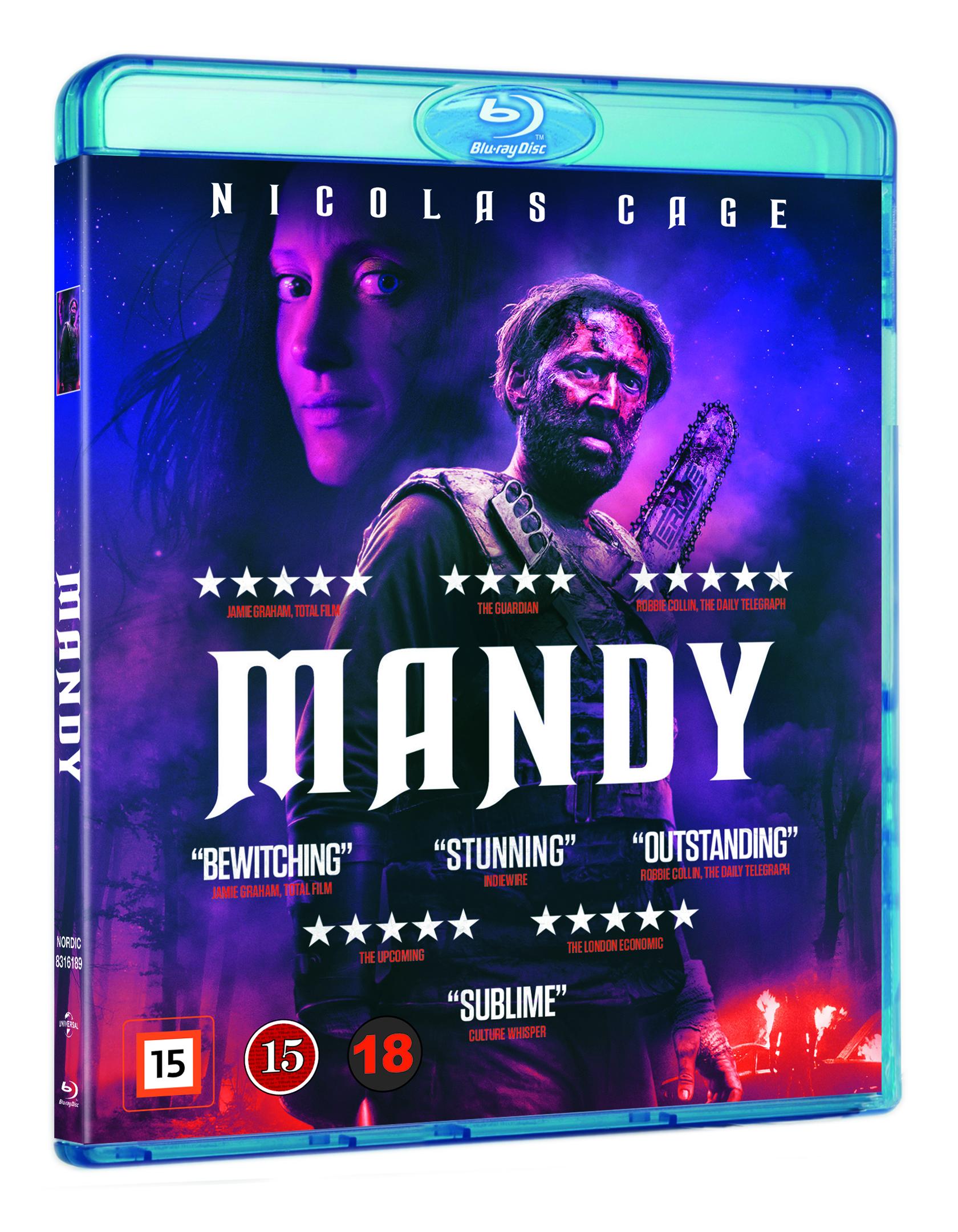Mandy - Nicholas Cage - Film -  - 5053083161897 - 1/11-2018