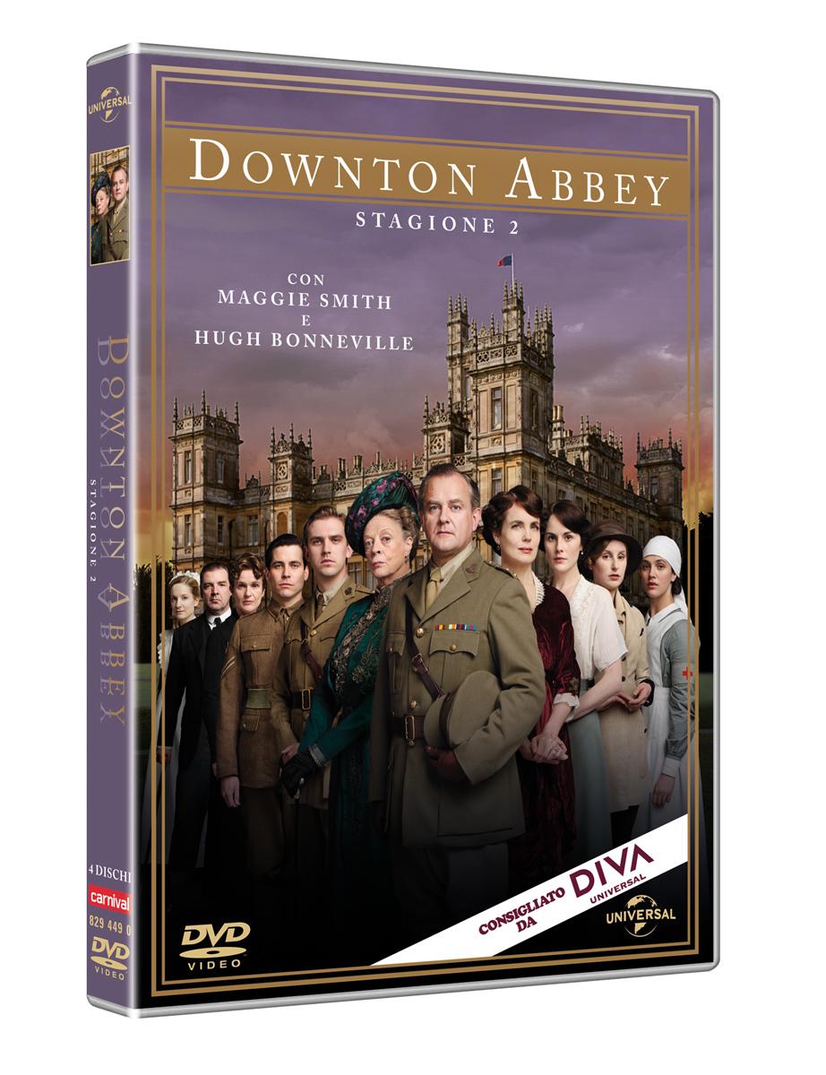 Downton Abbey - Stagione 2 - Carter,bonneville,james-collier,dockery,froggatt,mcshera,nicol,finneran - Film - Universal Pictures - 5050582944907 -