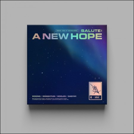 SALUTE : A NEW HOPE (3RD EP) REPACKAGE - AB6IX - Musik -  - 8809355976907 - 20/1-2021