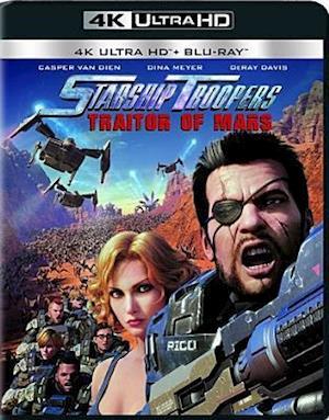 Starship Troopers: Traitors of Mars - Starship Troopers: Traitors of Mars - Film -  - 0043396513914 - 19/9-2017