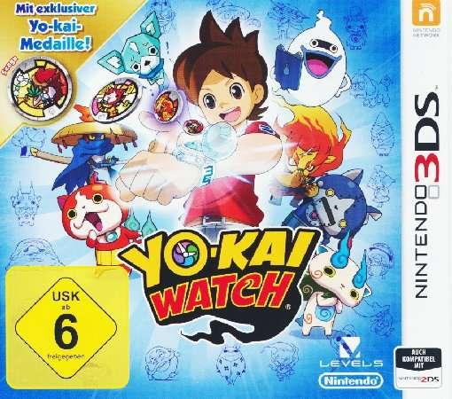 Yo-Kai Watch,N3DS (SE).2235440 -  - Bøger -  - 0045496473914 -