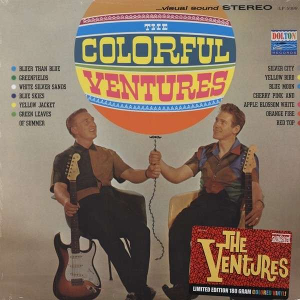 Colorful Ventures - Ventures - Musik - SUNDAZED MUSIC INC. - 0090771539915 - Jun 30, 1990