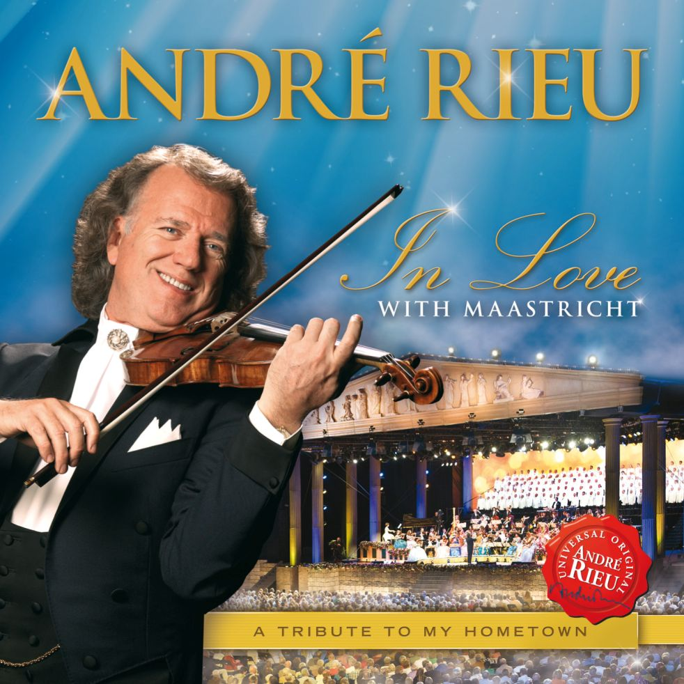 In Love with Maastricht - Andre Rieu - Musik - UNIVERSAL - 0602537280919 - 7/2-2013