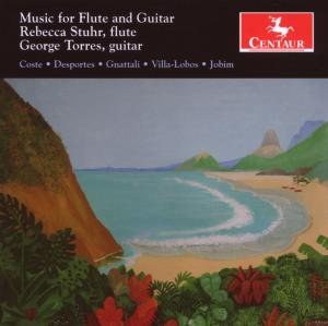 Music for Flute & Guitar - Stuhr, Rebecca / George Torres - Musik - CENTAUR - 0044747283920 - 19/6-2007