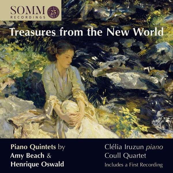 Treasures From The New World: Piano Quintets By Amy Beach & WORLD - Amy Beach - Musik - SOMM - 0748871060920 - February 28, 2020