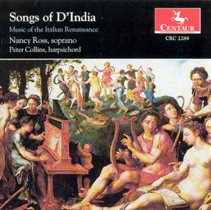Songs - D'india / Ross / Collins / Corbett / Gergovich - Musik - CENTAUR - 0044747228921 - 21/1-1997