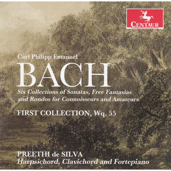 6 Collections of Sonatas, Fraa Fantasias & Rondos - C.p.e. Bach - Musik - CENTAUR - 0044747327921 - 21/1-2014