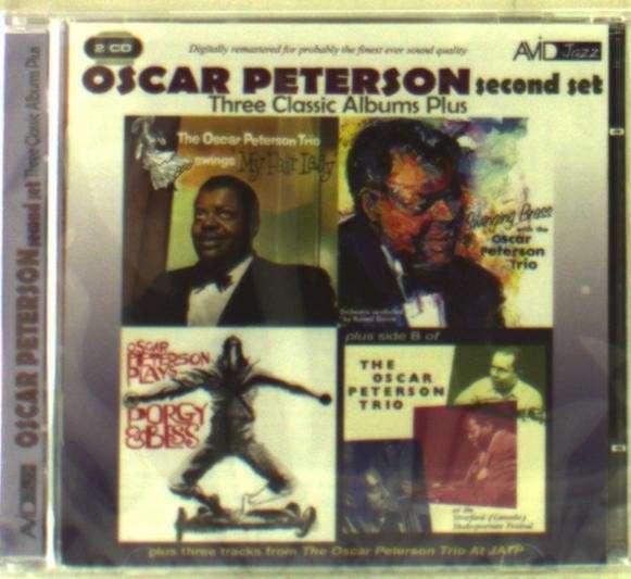 Three Classic Albums Plus - Oscar Peterson - Musik - AVID - 5022810310921 - 3/2-2014