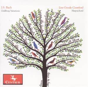 Goldberg Variations Bwv 988 - Lisa Goode Crawford - Musik - CENTAUR - 0044747289922 - April 30, 2014