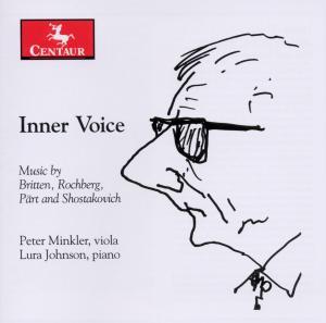 Inner Voice - Minkler / Johnson / Britten / Rochberg / Part - Musik - Centaur - 0044747304922 - 30. november 2010
