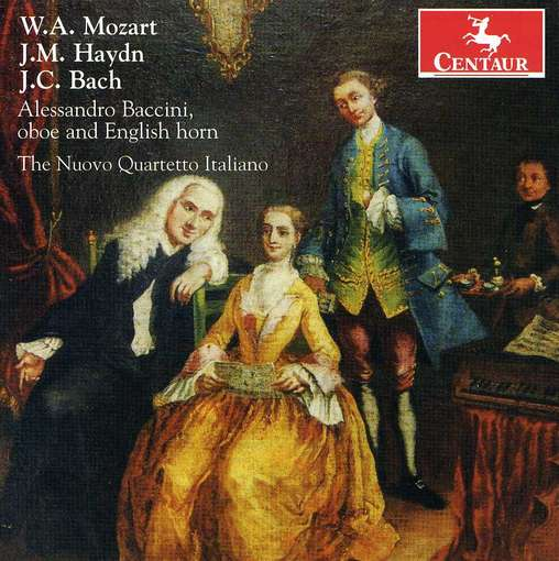 Mozart, J.m. Haydn & J.c.bach - Nuovo Quartetto Italiano - Musik - CENTAUR - 0044747317922 - December 4, 2012