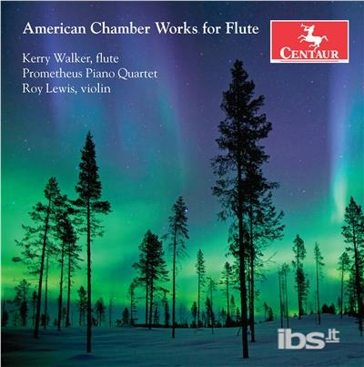 American Chamber Works for Flute - Beach / Walker / Lewis - Musik -  - 0044747359922 - 2/2-2018