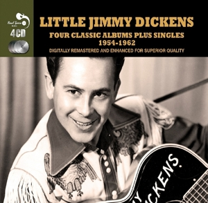 Four Classics Plus - Little Johnny Dickens - Musik - Real Gone Music - 5036408175922 - 13/11-2015