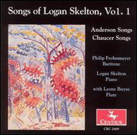 Songs 1: Anderson & Chaucer Songs - Skelton / Frohnmayer / Buyse - Musik -  - 0044747266923 - 25/5-2004