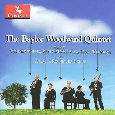 Colloquy for Woodwind Quintet & Percussion Six - Willis / Mcallister / Baylor Woodwind Quintet - Musik - Centaur - 0044747295923 - 31/3-2009