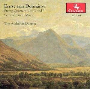 String Quartet #2 in D-flat - Audubon Quartet / Dohnnyi - Musik -  - 0044747230924 - 1/10-1996