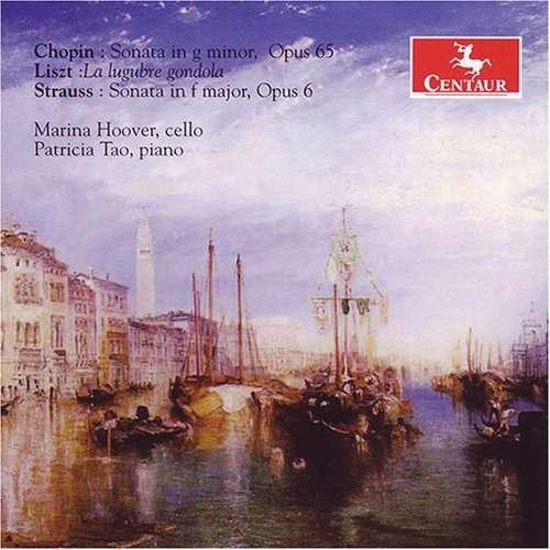 Sonatas for Cello & Piano - Tao / Hoover - Musik - CENTAUR - 0044747285924 - 21/3-2012