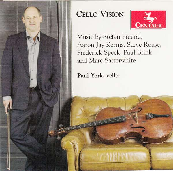 Cello Vision - Freund / Kernis / Rouse / Satterwhite / Speck - Musik - Centaur - 0044747298924 - 23/2-2010