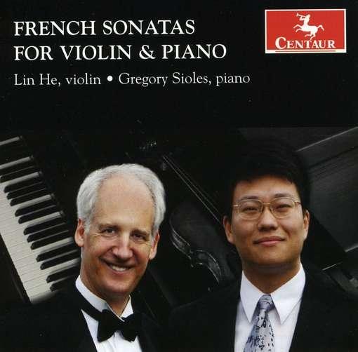 French Sonatas for Violin & Piano - Debussy / Boulanger / Ravel / Poulenc / Sioles - Musik - Centaur - 0044747300924 - 26. januar 2010