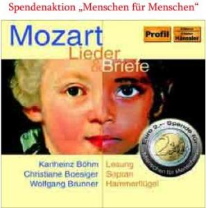 Lieder & Briefe - Wolfgang Amadeus Mozart (1756-1791) - Musik - PROFIL - 0881488604924 - October 2, 2006