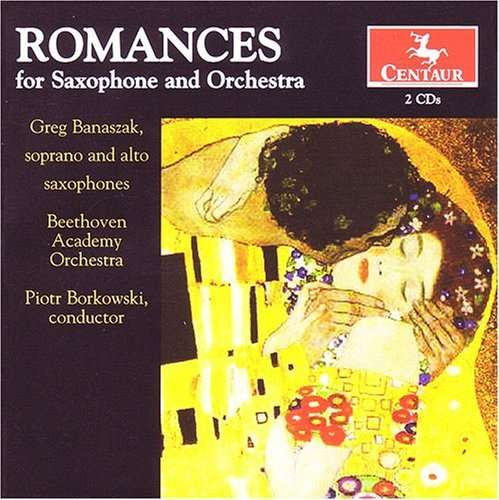 Romances for Saxophone & Orchestra - Beethoven Academy Orchestra - Musik - CENTAUR - 0044747288925 - 21/3-2012