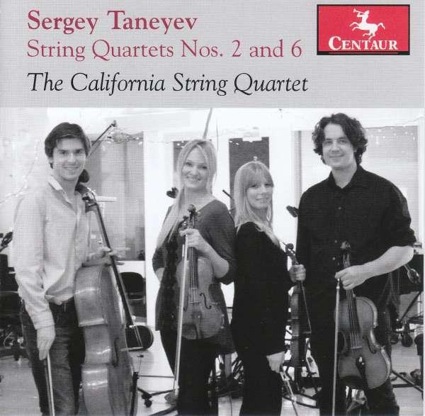 Sergey Taneyev - S. Taneyev - Musik - CENTAUR - 0044747358925 - October 5, 2017