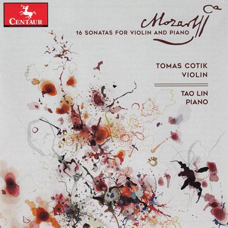 16 Sonatas for Violin and Piano - W.a. Mozart - Musik - CENTAUR - 0044747361925 - 9/3-2018