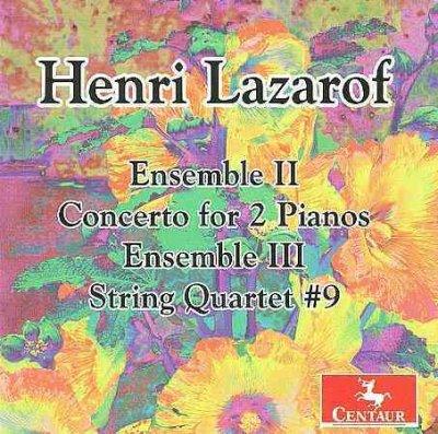 Ensemble Li & Lii / Concerto for 2 Pianos - V/A - Musik - CENTAUR - 0044747294926 - 21/3-2012