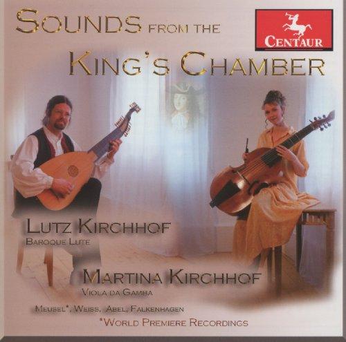 Sounds from the King's Chamber - Lutz Kirchhof - Musik - CENTAUR - 0044747322926 - 9/10-2012