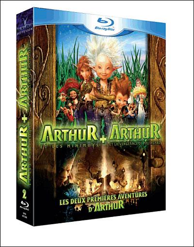 Arthur Et Les Minimoys ; Arthur Et La Vengeance De -  - Film -  - 3760062467926 -