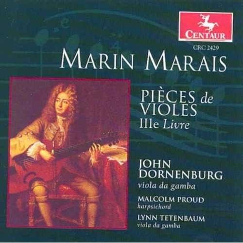 Pieces De Violes Ille Liv - M. Marais - Musik - CENTAUR - 0044747242927 - 11/5-2000