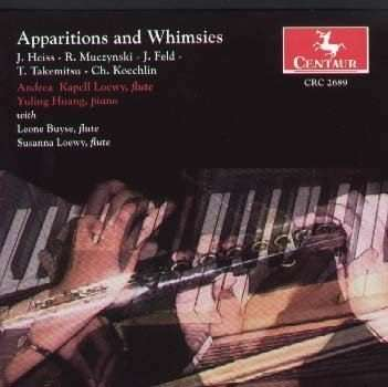 Apparitions for Flute & Piano - Heiss / Muczynski / Lewis / Buyse / Loewy / Huang - Musik -  - 0044747268927 - 28/9-2004
