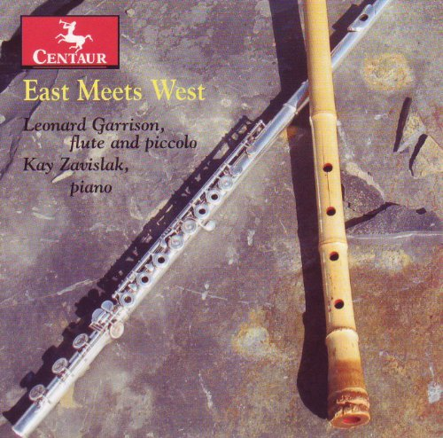 East Meets West - Garrison, Leonard / Kay Zavislak - Musik - CENTAUR - 0044747309927 - November 30, 2011