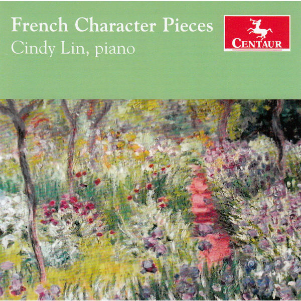 French Character Pieces - Debussy / Chabrier / Ravel / Lin - Musik - Centaur - 0044747338927 - 14/10-2014