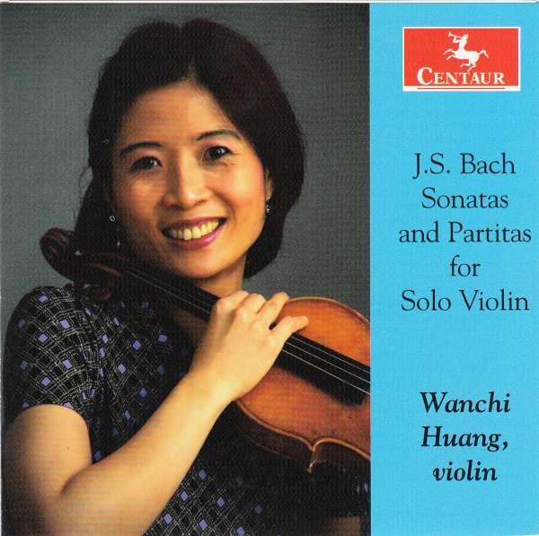 Sonatas & Partitas for Solo Violin - J.s. Bach - Musik - CENTAUR - 0044747341927 - 27/1-2016