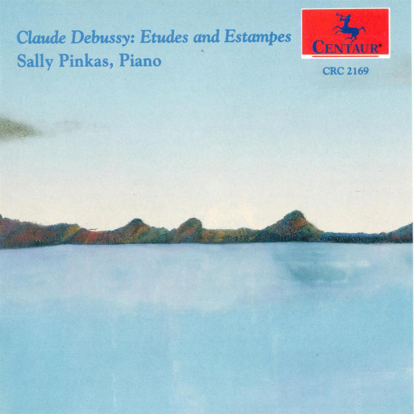 Etudes and Estampes - Sally Pinkas - Musik - CENTAUR - 0044747216928 - 30/4-2014