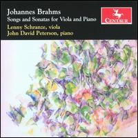 Songs and Sonatas for Viola and Piano - Schranze / Peterson - Musik - CENTAUR - 0044747290928 - 30/4-2014