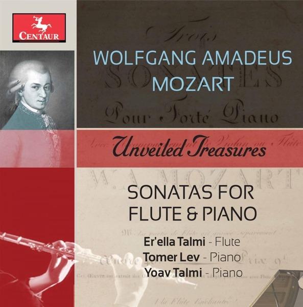 Sonatas for Flute & Piano - Wolfgang Amadeus Mozart - Musik - CENTAUR - 0044747357928 - August 2, 2018