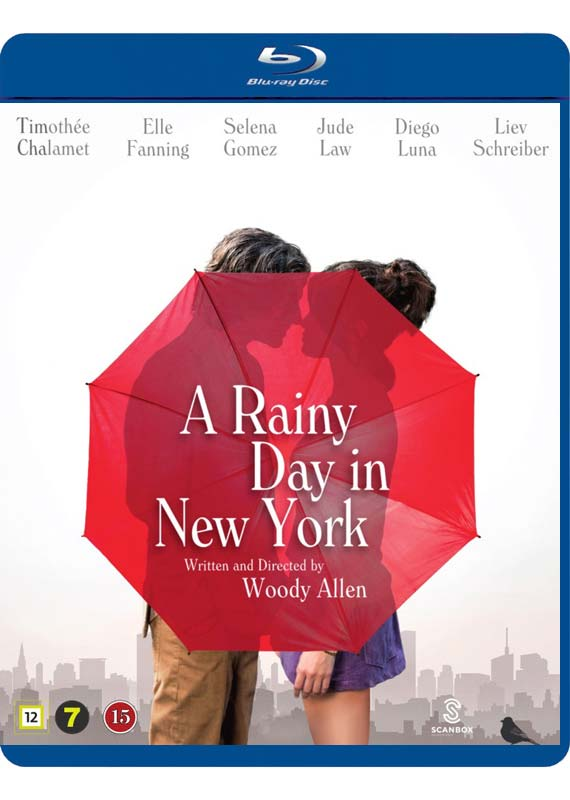 Rainy Day in New York - Woody Allen - Film -  - 5709165125928 - 19/3-2020