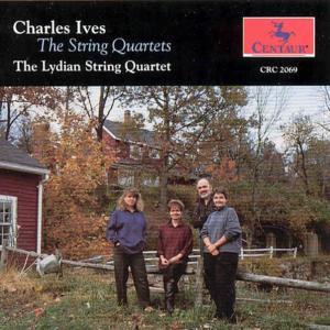 String Quartets 1 & 2 / Hymn Hallowe'en - Ives / Lydian String Qtet - Musik - Centaur - 0044747206929 - 1/9-1993