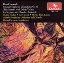 Choral Symphony (Symphony 3) - Lazarof / Thomas / Nadler / Cook / Schwartz - Musik - CENTAUR - 0044747251929 - 24/7-2001