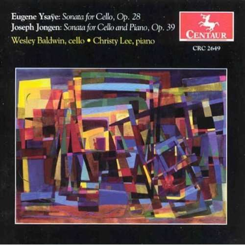 Sonata for Solo Cello - Baldwin / Browne - Musik - CENTAUR - 0044747264929 - 30/4-2014
