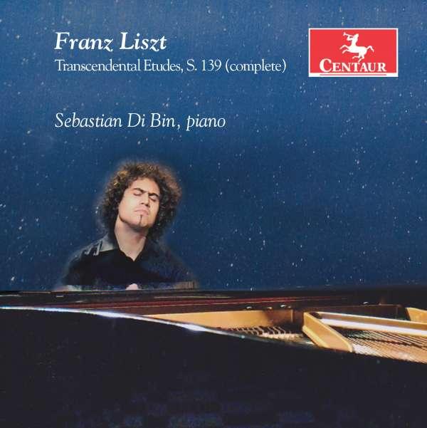 Transcendental Etudes - F. Liszt - Musik - CENTAUR - 0044747347929 - 16/9-2016